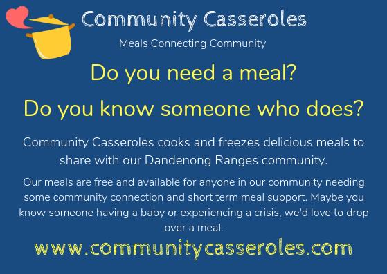 Community Casseroles